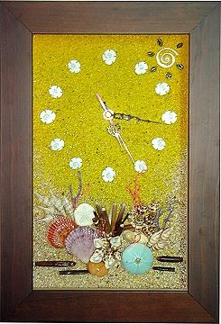 綜合-貝殼時鐘 [二]
