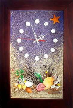 綜合-貝殼時鐘 [六]