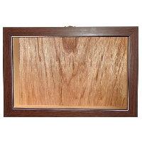 實木屋盒-胡桃木門