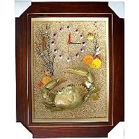 禮品訂作-螃蟹壁掛家飾
