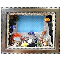 禮品訂作-立體海洋風相框 4X6吋
