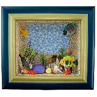禮品訂作-水族箱魚造型相框